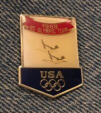 Synchronized Swimming Olympic Pin~USA Team~1988 Summer Games~Seoul~by HoHo NYC