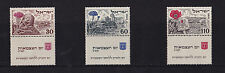 Israel - 1952 4th Anniversary of Independance - Mtd Mint - SG 65-67 (With Tabs)