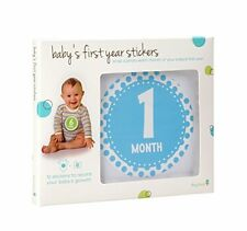 Nip Tiny Ideas Baby'S First Year Stickers - Belly Growth Record - 1 Each Month