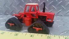 1/64 ERTL custom agco allis chalmers 7580 4wd tractor quadtrac tracks farm toy