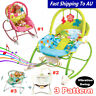 Baby Infant Rocker Bouncer Newborn Toddler Portable Swing Vibration Toys Music