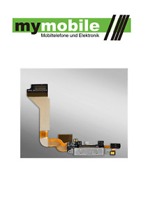 10 Stück iPhone 4 Ladebuchse Dock Connector Charging Port Flex Kabel schwarz