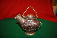 Antique Copper Holy Water  Pitcher Ewer  Cow Shape
