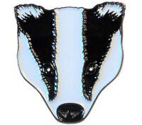 Badger Countryside Wildlife Wild Animal 25mm Metal Enamel Pin Badge Brooch NEW