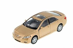 """Welly Toyota Camry 1/40 scale 4.75"""" diecast model car with PULL BACK Gold"""