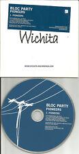 BLOC PARTY Pioneers CARD SLEEVE EUROPE Press PROMO DJ CD Single USA Seller 2004