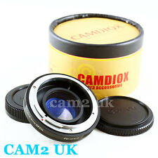 Focal Reducer Speed Booster Adapter Canon FD lens to Micro 4/3 M43 M4/3 Mount