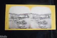 STA870 Lucerne 1868 Suisse Braun Dornach STEREO albumen Photo stereoview