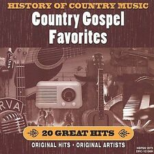 Various Artists : History of Country Music: Gospel Favorit CD