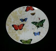 BUTTERFLY plate(s) Pier One imports white background Butterflies