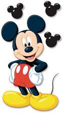 DISNEY MICKEY EK Success Dimensional Stickers DJJ005 icons mouse ears Brand NEW!