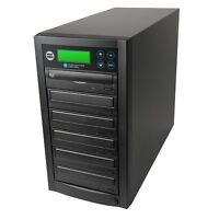 1 to 5 Target Dual Layer 24x Drive DVD/CD Disc Copy Standalone Duplicator Tower