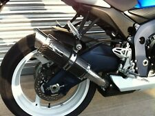 Suzuki GSXR 600 750 L1 L2 2011 2012 Moto GP Carbon Exhaust Can, Road Legal