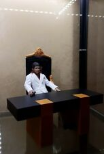 blitzway custom NO DOLL! scarface tony montana desk 1/6 scale NO TRONE NO DOLL!
