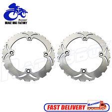 2x Front Brake Disc Rotor for CB 350 CB 450 S 87 XL 600 V Transalp XL 650 700 V