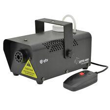 QTX QTFX - 400 Máquina De Humo Niebla Nebulizador de banda de Discoteca DJ Fiesta De Niños + Control Remoto