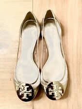 Tory Burch Clear Ballet Slippers 7.5