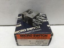 Honeywell Micro Switch PMCCC Contact Block Tab 2PDT