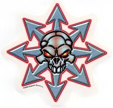 CHAOS! Comics SKULL ICON Surfboard Sticker Auto Decal