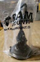 "RAP-105-6D224U RAM Twist Lock Suction Cup Mount with 6"" Flex Arm 1J-2535-F15"