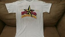 Vintage Ringo Starr and his all starr band concert tshirt 1989 white XLARGE