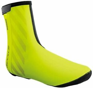 SHIMANO shoes cover neon yellow ECWFABWQS52UF2 S S1100R H2O S (shoe size 37-40)