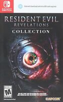 Resident Evil Revelations Collection Nintendo Switch Brand New Sealed