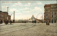 Providence RI Market Square c1910 Postcard