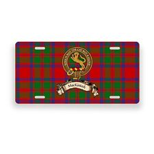 MacKintosh Scottish Clan Novelty Auto Plate Tag Family Name License Plate
