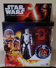 STAR WARS ARMOUR UP FIRST ORDER FLAMETROOPER THE FORCE AWAKENS IN HAND NEW
