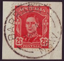 "NSW POSTMARK ""BARRABA"" ON 2-1/2d KGVI DATED1947 (A1981Y)"