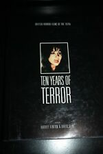 TEN YEARS OF TERROR - HARDCOVER - IS IN NEAR MINT CONDITION!! EXTREMELY RARE!!!