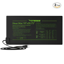 Hydroponic Seed Starting Amp Cloning Heat Mats For Sale Ebay