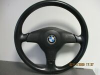 BMW E36 Lederlenkrad Airbaglenkrad Sportlenkrad 3 drei Speichen Original