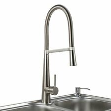 New Swivel Spout Kitchen Sink Mixer Taps with Pull Out Bidet Spray Tap Chrome UK