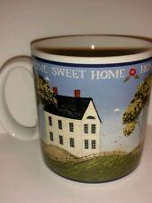 Sakura Coffee  Mug Home Sweet Home Stoneware House