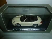 Die cast 1 43 Porsche 911 carrera cabriolet    Minichamps with box