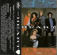 Heart - What About Love, These Dreams, Nothing  At All, Never (Cassette) USED