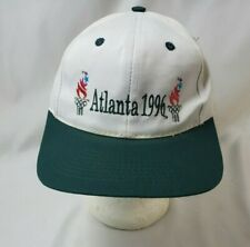 Vintage Atlanta 1996 Olympic Games USA Embroidered Logo Snapback Hat Cap