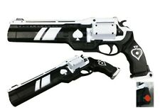 New Foam Pistol Cosplay Gun Costume Accessories 1:1 Size Ace of Spades Game Prop