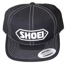 SHOEI HELMETS GENUINE BASEBALL CAP BLACK (WHITE LOGO)
