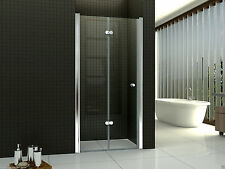 Duschtür Falttür Nischentür Duschabtrennung Dusche 70-120cm 6mm Echtglas SC007