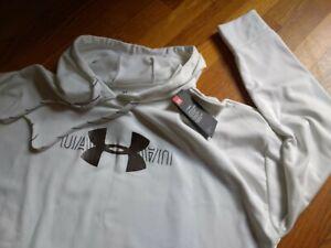 NWT, Under Armour  Women's Fleece Graphic Pullover Hoodie Sweatshirt # 1344391