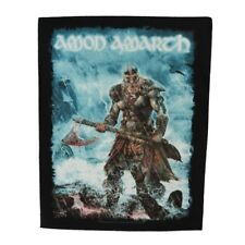 XLG Amon Amarth Jomsviking Back Patch Melodic Metal Band Sew On Applique