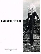 PUBLICITE ADVERTISING 114  1994  LAGERFELD   haute couture