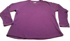 Under Armour All Seasons Gear Long Sleeve Shirt 2 XL Mens Purple