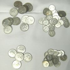 LOT of $10.60 Face Canadian 50% Silver - 20 Quarters, 56 Dimes