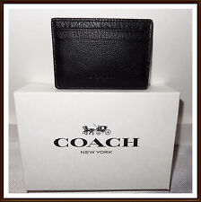 Coach leather business credit card cases for men ebay coach f75459 mens money clip card case leather mahogany colourmoves
