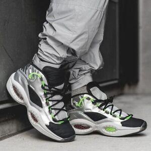 Reebok Question Mid Allen Iverson Men's Minions Athletic Sneaker Basketball Shoe