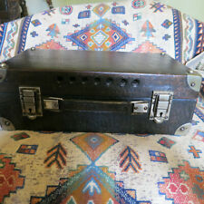 More details for vintage leather bound  box,